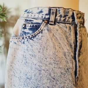 LEVI'S 900 Series Blue Acid Wash Denim Size 26-28